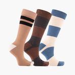 Ligne Bloc Crew Socks // 3 pack