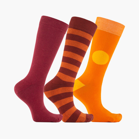 Norme Diviser Crew Socks // 3 pack