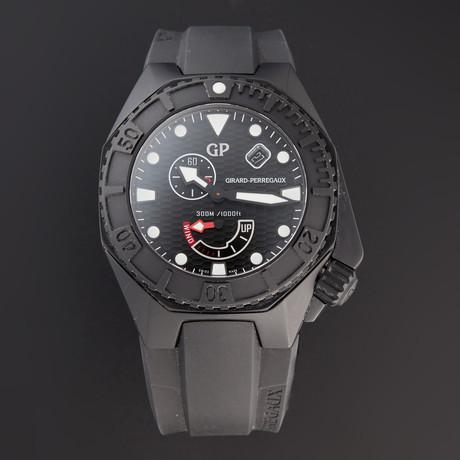 Girard Perregaux Sea Hawk Black Automatic // 49960-32-632-FK6A // Pre-Owned