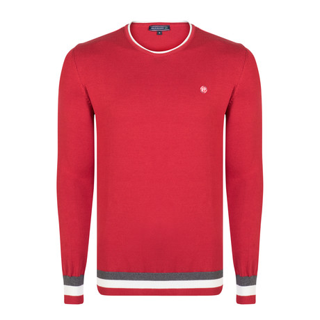Ethan Pullover // Red (XS)