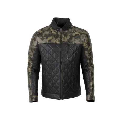 Camo Jacket // Black (S)