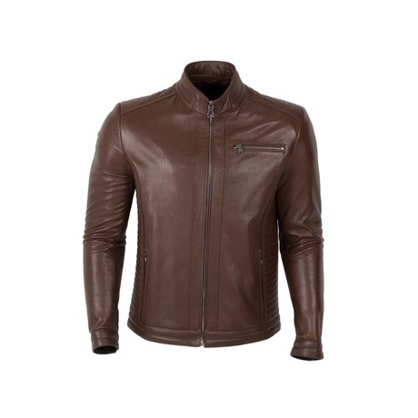 Daniel Jacket // Brown (S)