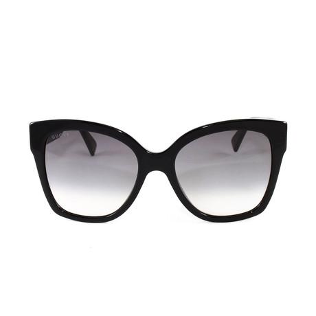 Gucci Women's Sunglasses // GG0459S // Black Gold