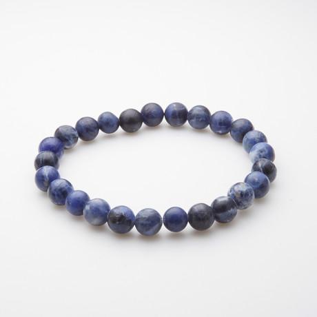 Jean Claude Jewelry // Sodalite Bracelet // Blue