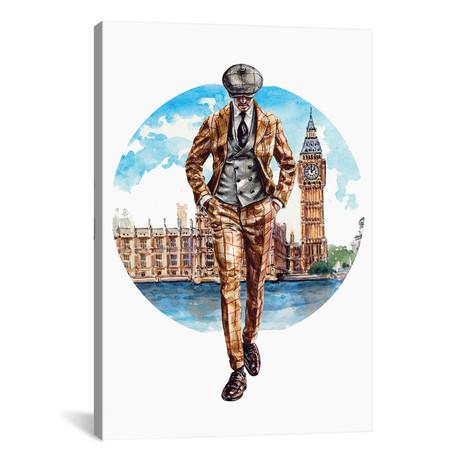 "The London Man (18""W x 26""H x 0.75""D)"