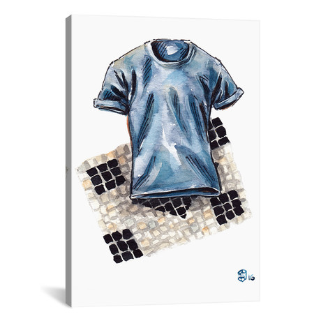 "Cucinelli Shirt (18""W x 26""H x 0.75""D)"