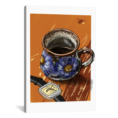 """Watches And Coffee I (18""""W x 26""""H x 0.75""""D)"""