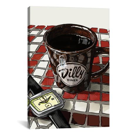 "Diner Coffee (18""W x 26""H x 0.75""D)"