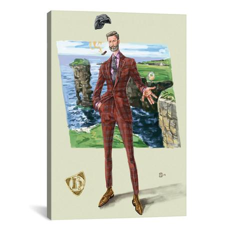 "Highland Park Man (18""W x 26""H x 0.75""D)"