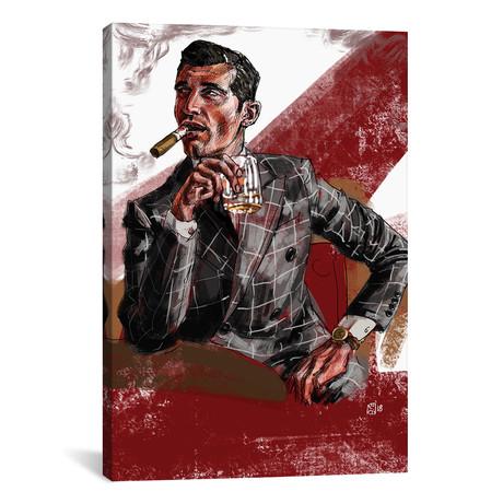 "Cigar & Whiskey (18""W x 26""H x 0.75""D)"