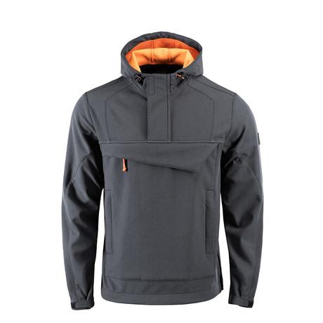 Anorak // Gray + Orange (XS)