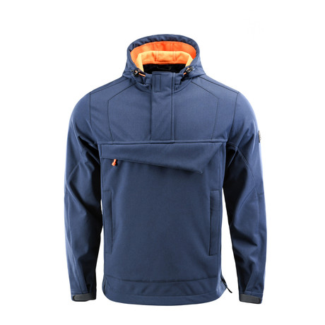 Anorak // Blue + Orange (XS)