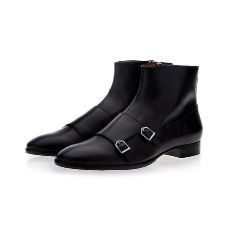 Odilon Nappa Ankle Boots // Black (Euro: 39)