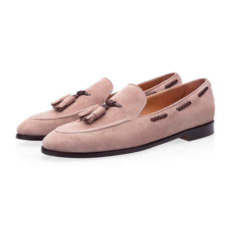 Gigas Velukid Loafers // Taupe (Euro: 39)