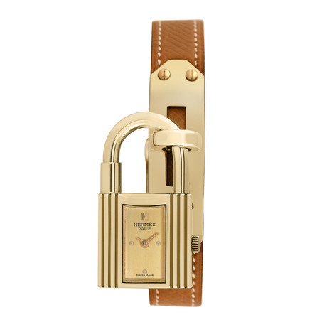 Hermès Ladies Lock Quartz // Pre-Owned