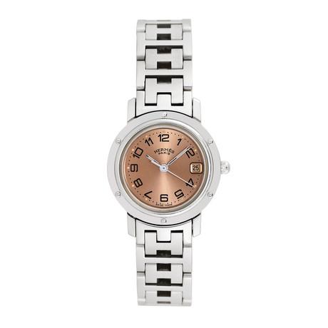 Hermès Ladies Clipper Quartz // Pre-Owned