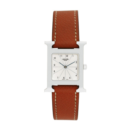 Hermès Ladies H Hour Quartz // HH1.210 // Pre-Owned
