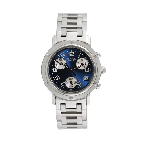 Hermès Ladies Clipper Chronograph Quartz // CL1.310 // Pre-Owned