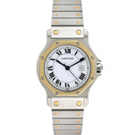 Cartier Ladies Santos Octagon Midsize Automatic // Pre-Owned