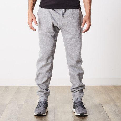 Simply Butter Jogger // Heather Gray (S)