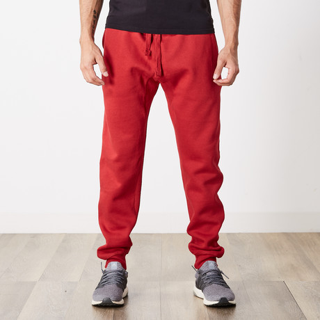 Simply Butter Jogger // Cardinal Red (S)