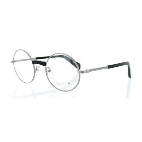 Unisex YY-3001-019 Round Glasses // Black