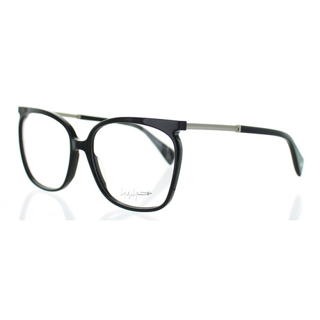Unisex YY-1028-019 Square Glasses // Black