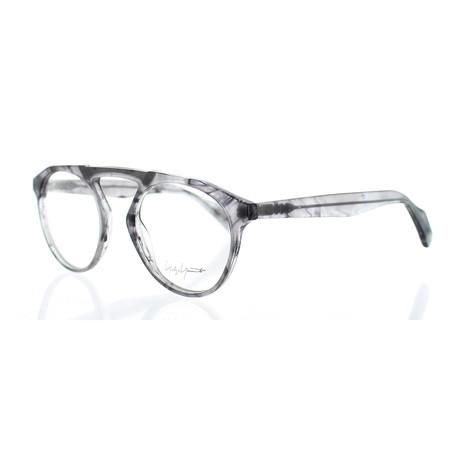 Unisex YY-1027-908 Round Glasses // Smoke