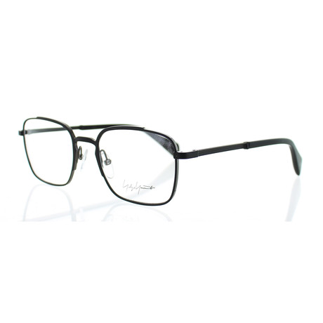 Unisex YY-3006-002 Square Glasses // Matte Black