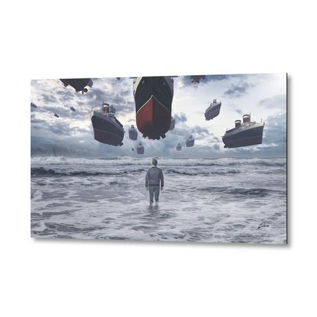 """Kopabli by Apachennov // Aluminum Print (16""""W x 24""""H)"""