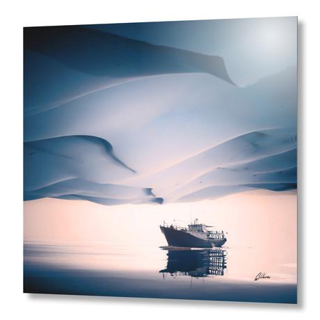 "Desertir // Aluminum Print (16""W x 16""H)"