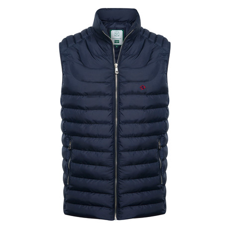 Steep Vest // Navy (XS)