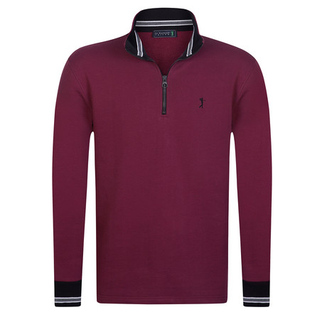 Caliber Sweatshirt // Bordeaux (XS)