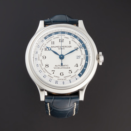 Baume & Mercier Worldtimer Automatic // A10106 // Store Display