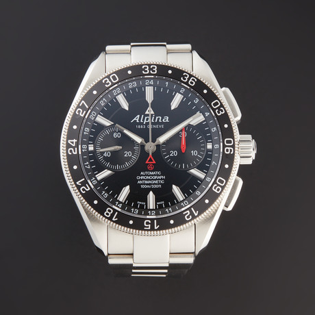 Alpina Chronograph Automatic // AL-860B5AQ6B // Store Display