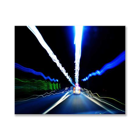 "Electrifying Canvas (12""W x 16""H x 2""D)"