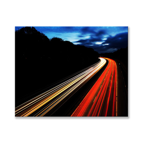 "Traffic Mountain Canvas (12""W x 16""H x 2""D)"