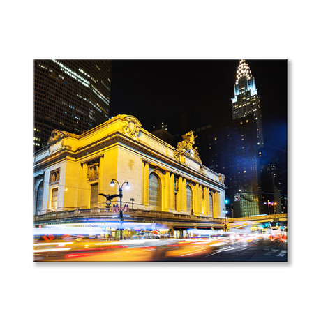 "Grand Central Station Canvas (12""W x 16""H x 2""D)"