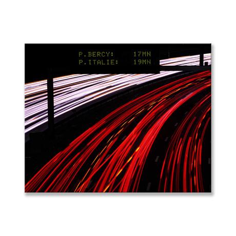 "Autostrade Canvas (12""W x 16""H x 2""D)"