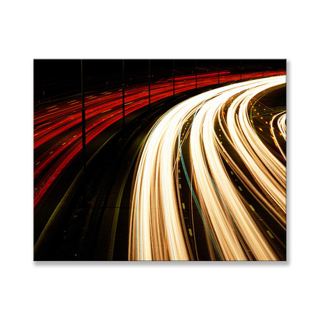 """Heads or Tails Lights Canvas (12""""W x 16""""H x 2""""D)"""