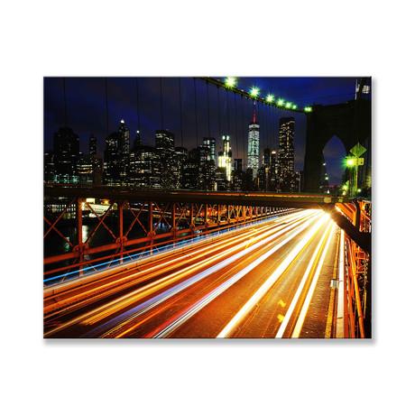 """Brooklyn Bridge Canvas (12""""W x 16""""H x 2""""D)"""