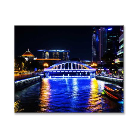 """Singapore River Canvas (12""""W x 16""""H x 2""""D)"""