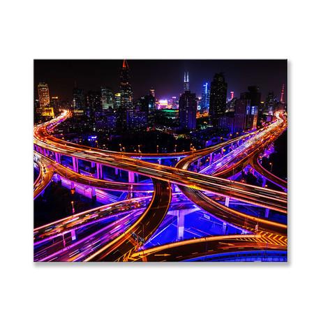 "Shanghai Connection Canvas (12""W x 16""H x 2""D)"