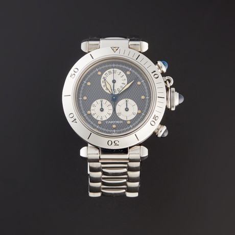 Cartier Pasha C Chronograph Quartz // Pre-Owned