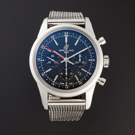 Breitling Transocean GMT Chronograph Automatic // AB0451 // Pre-Owned