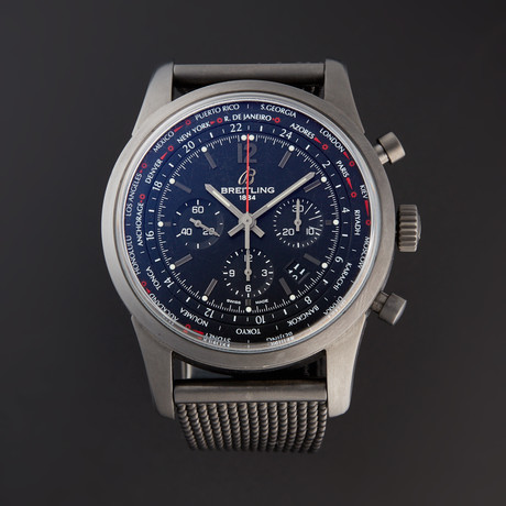 Breitling Transocean Unitime Pilot Chronograph Automatic // MB0510U6/BC80/159M // Pre-Owned