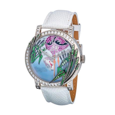 Boucheron Crazy Jungle Flamingo Automatic // WA010225