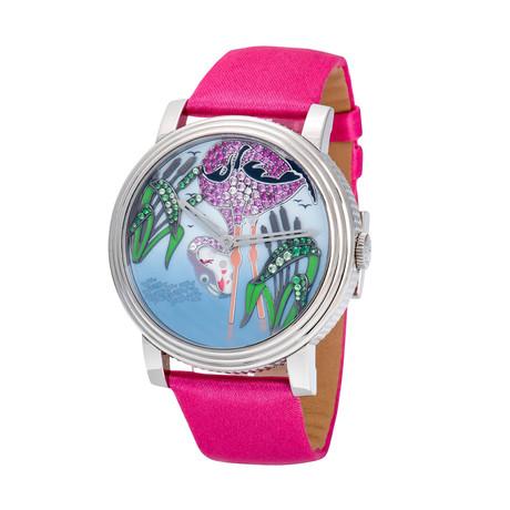 Boucheron Crazy Jungle Flamingo Automatic // WA010226