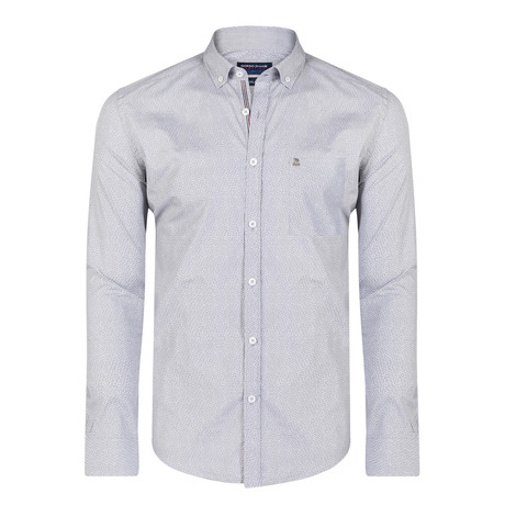 Marlon Shirt // Gray + White (XS)