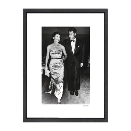 """John F. Kennedy + Jacqueline Kennedy // Great Moments in History (12""""W x 16""""H x 2""""D)"""